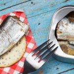 Canned mackerel